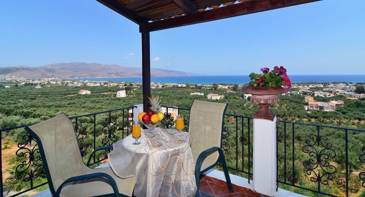 Appartementen Antilia - Tavronitis - Chania - kamer-balkon