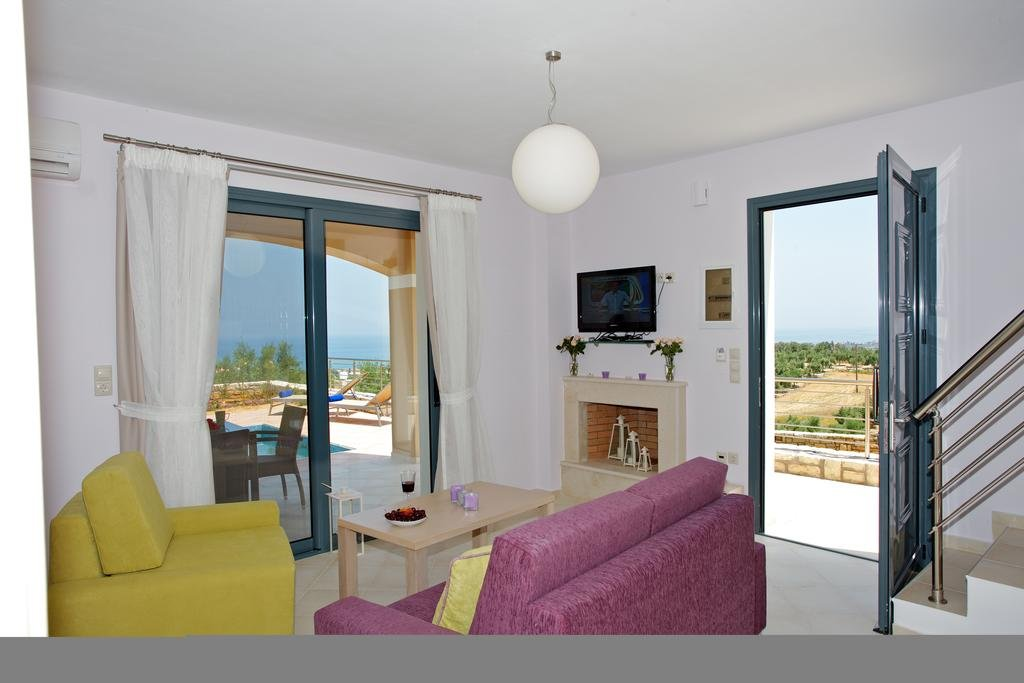 Villa's Carme - Rethymnon - kamer-woonkamer