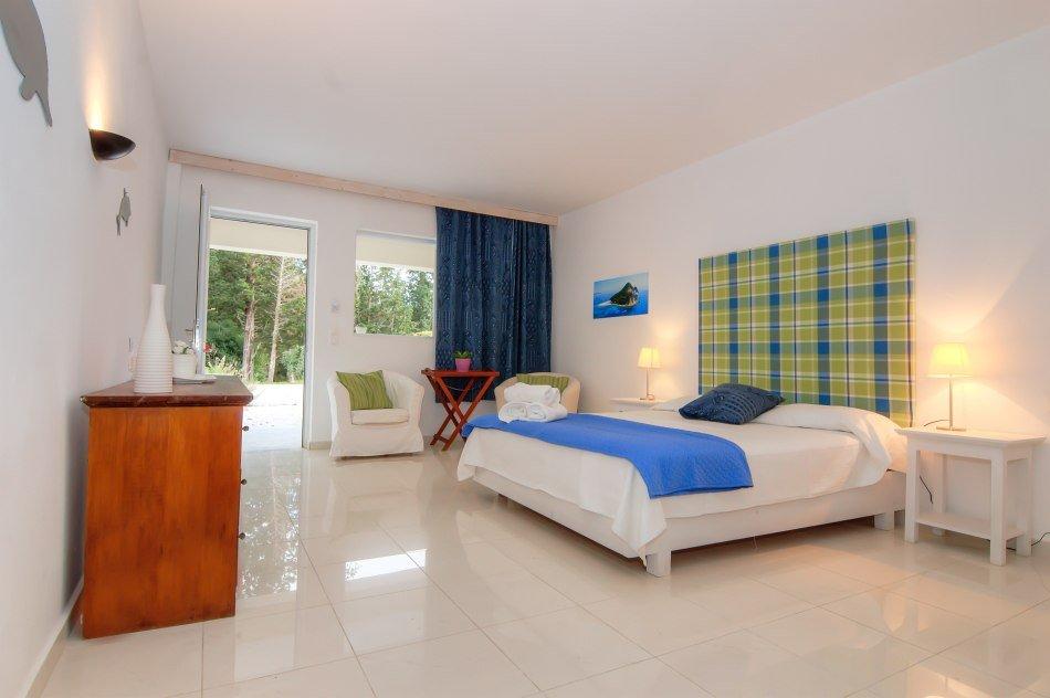 Hotel Belvedere - Vassilikos - kamer - standaard tuinzicht