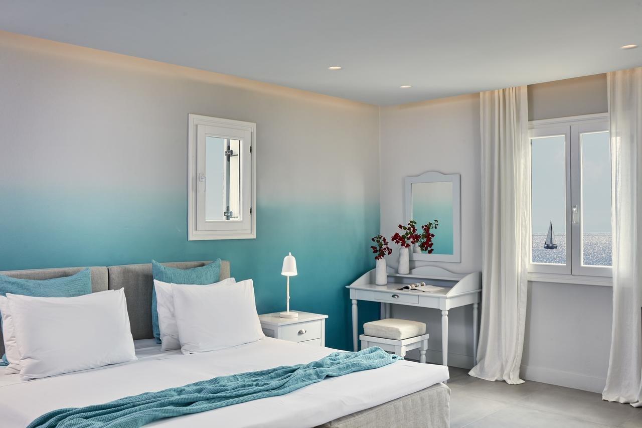Hotel Poseidon of Paros & Spa - Chrissi Akti - kamer - superior zeezicht