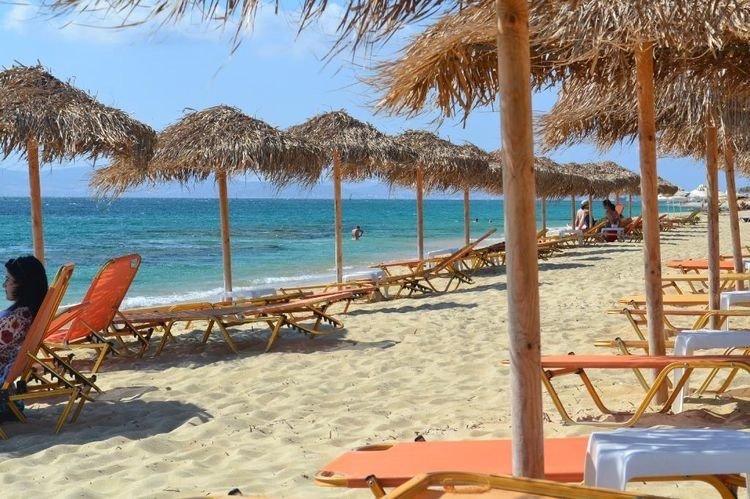 Hotel Iria Beach - Agia Anna strand