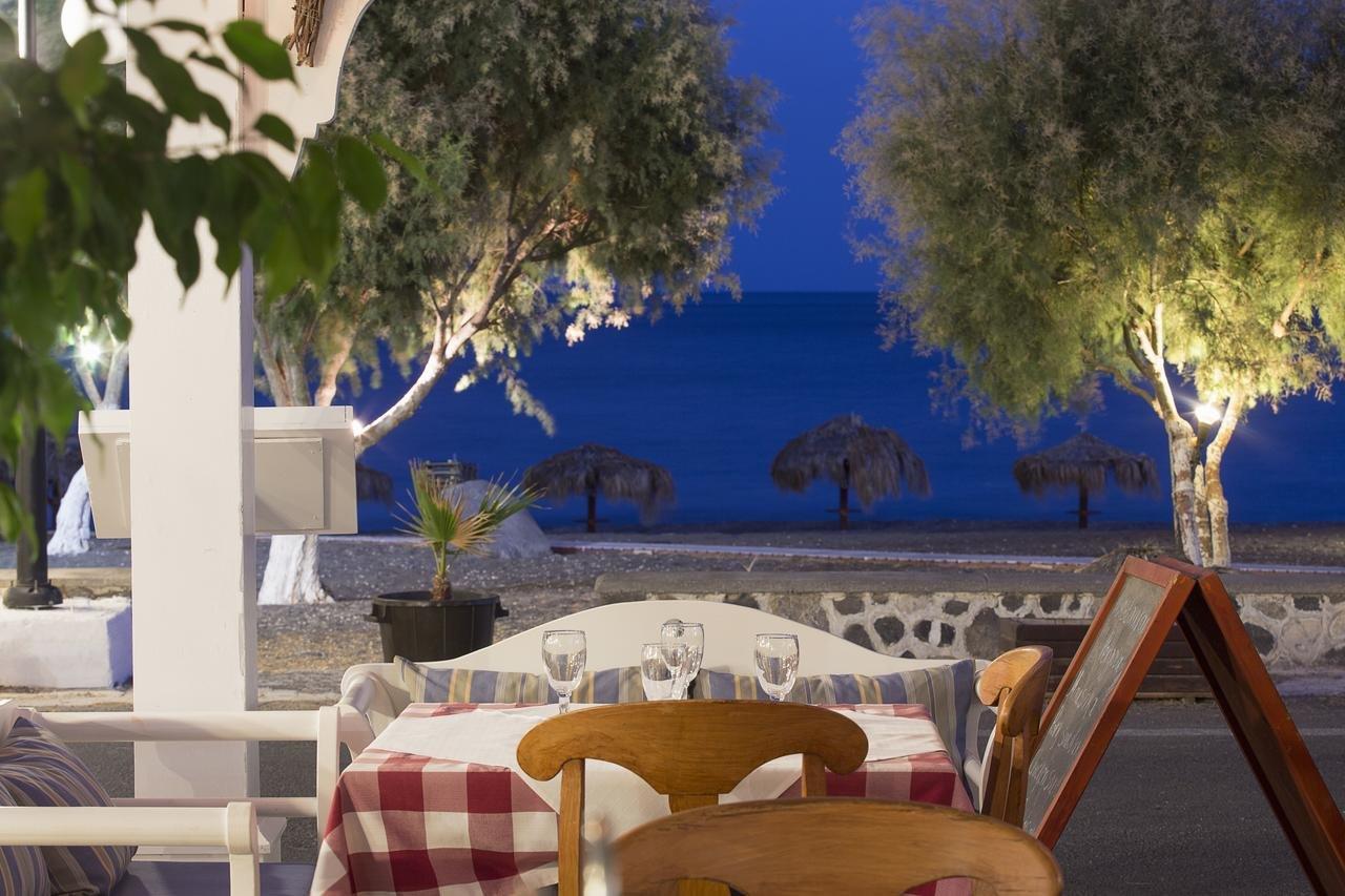 Hotel Veggera - Santorini -restaurant