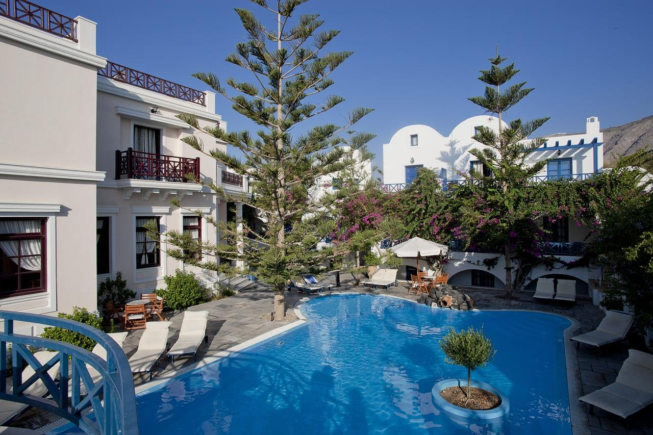 Hotel Veggera - Santorini -zwembad