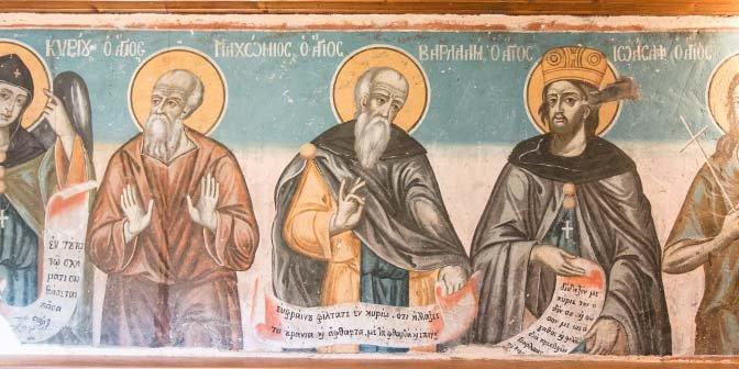 Meteora - klooster - fresco