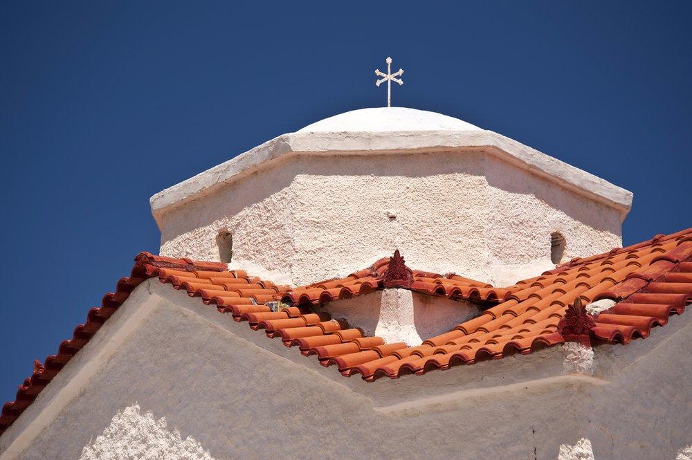 Orthodoxe kerk op Samos