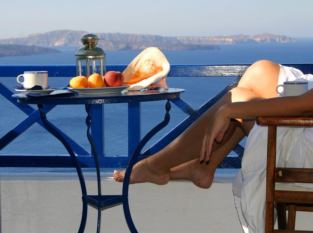 Santorini - terras