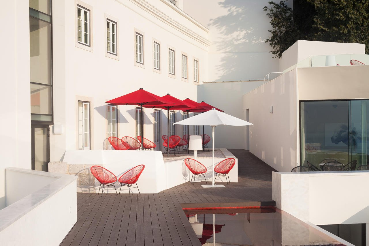 Hotel Memmo Alfama - terras