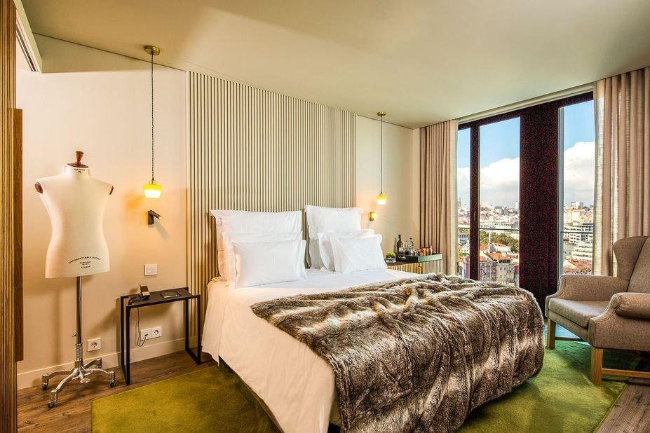 Hotel Memmo Principe Real  - superior kamer cityview