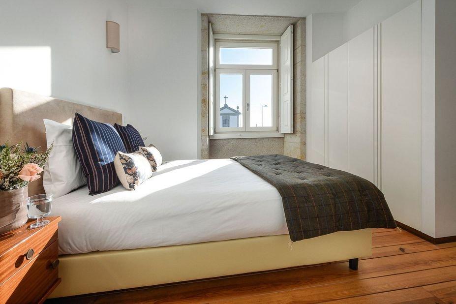 Appartementen Condes de Azevedo Palace  - slaapkamer
