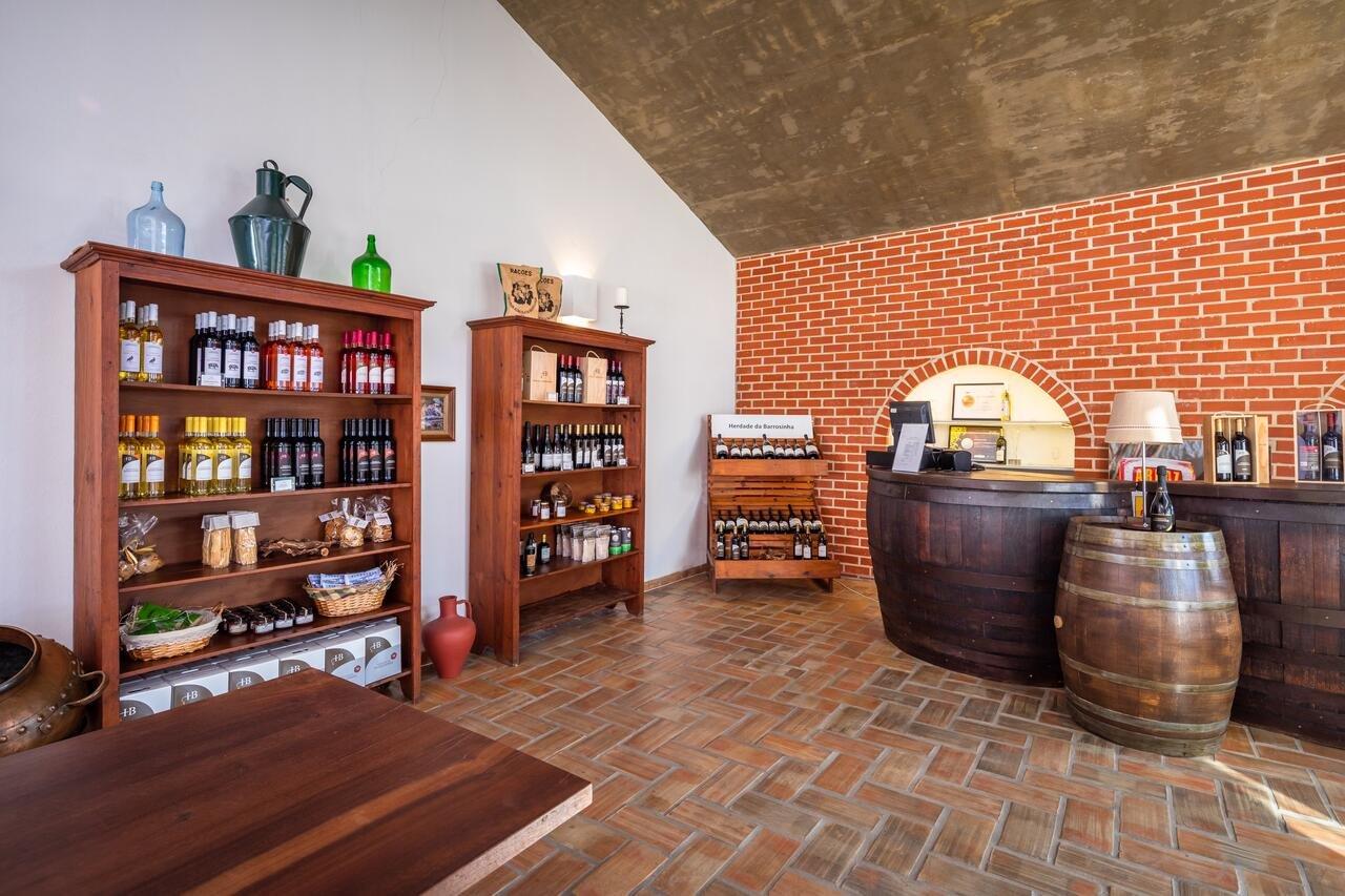 Hotel Rural da Barrosinha - winkeltje met lokale specialiteiten