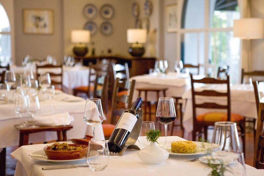 Hotel Santa Luzia - restaurant