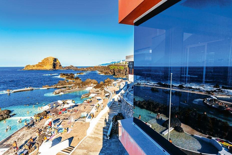 Hotel Aqua Natura Madeira- lava baden