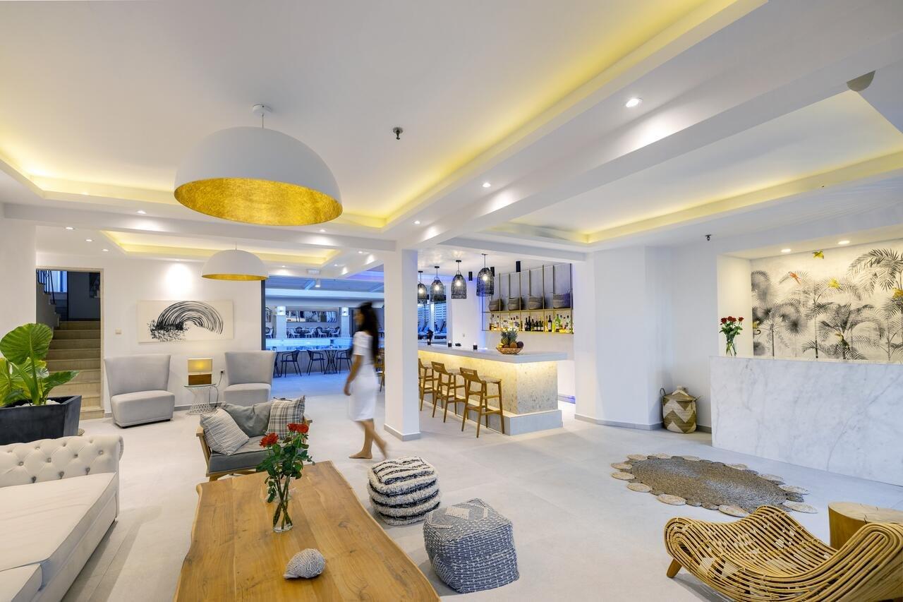 Appartementen La Stella - lobby