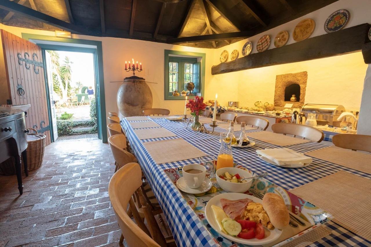 Quinta das Vinhas - oude keuken-eetzaal