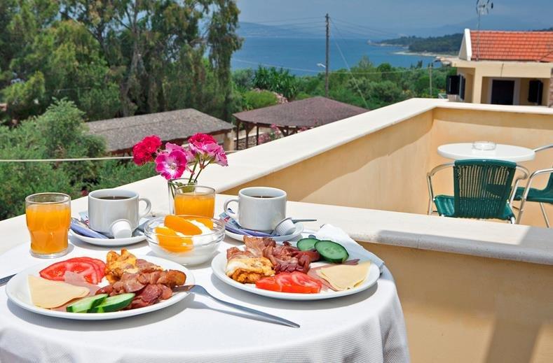 hotel en appartementen Lassi - ontbijt