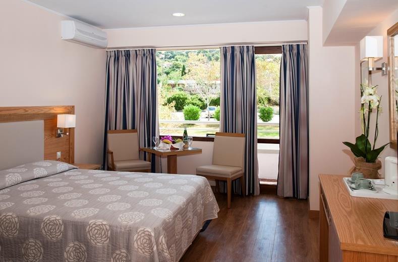 Mediterranee hotel - standaard kamer tuinzicht