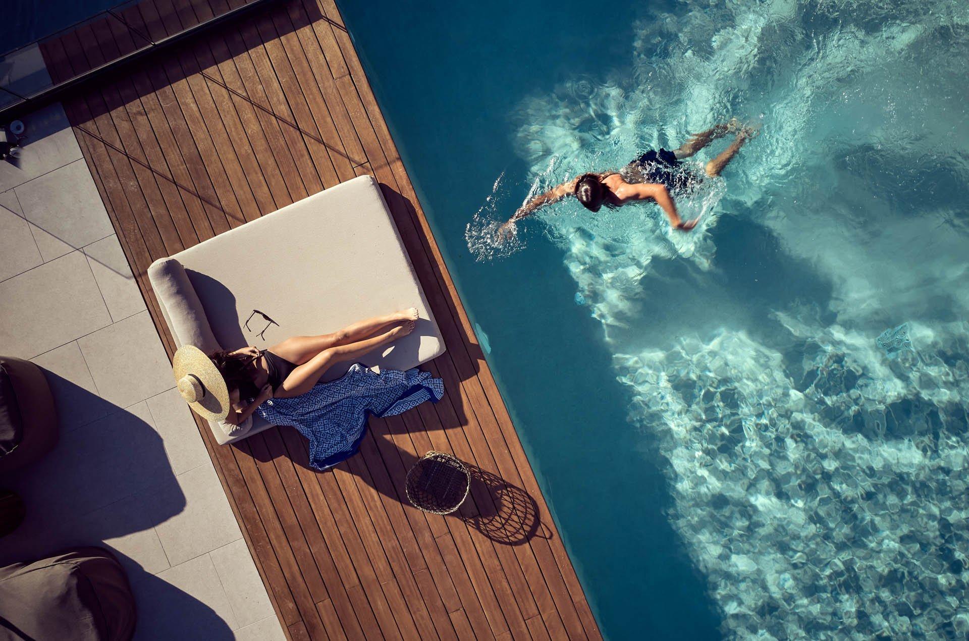 Contessina Suites -suite gedeeld zwembad