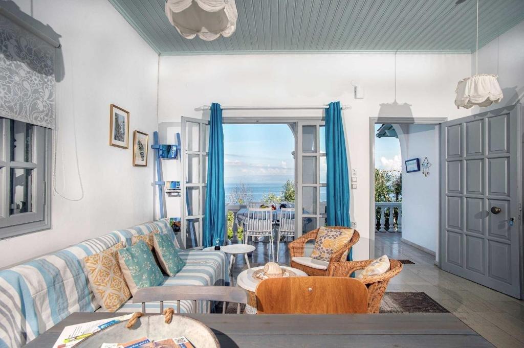 Paxos Blue - suite panoramisch zeezicht