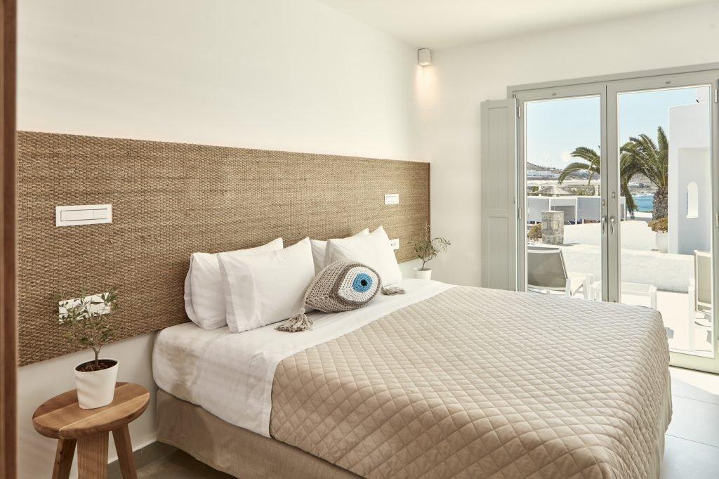 Manoula's Beach - superior kamer zeezicht