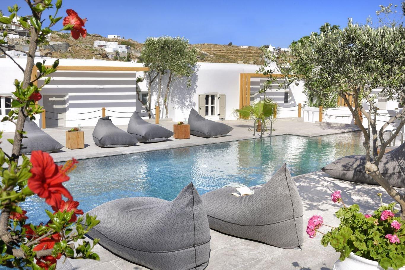 Petinos hotel - zwembad