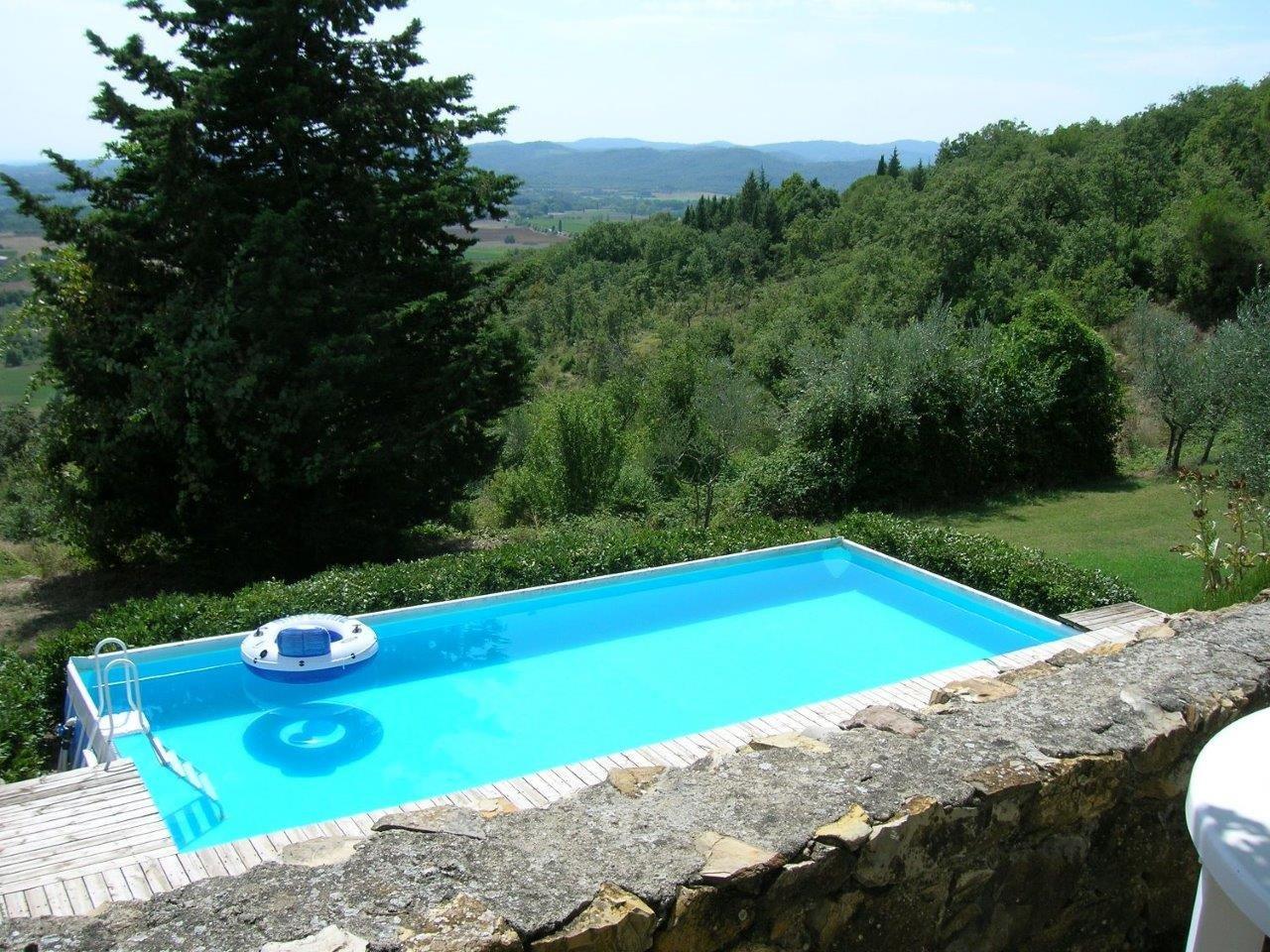 casarossa - zwembad met uitzicht