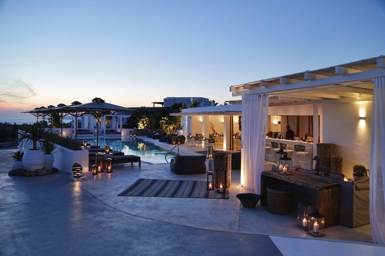 Livin Mykonos - zwembad