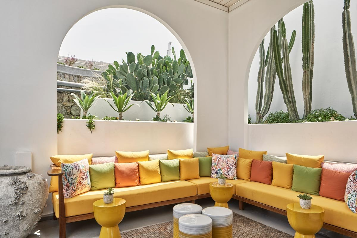 Myconian Korali - patio