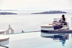 Absolute Mykonos - zwembad