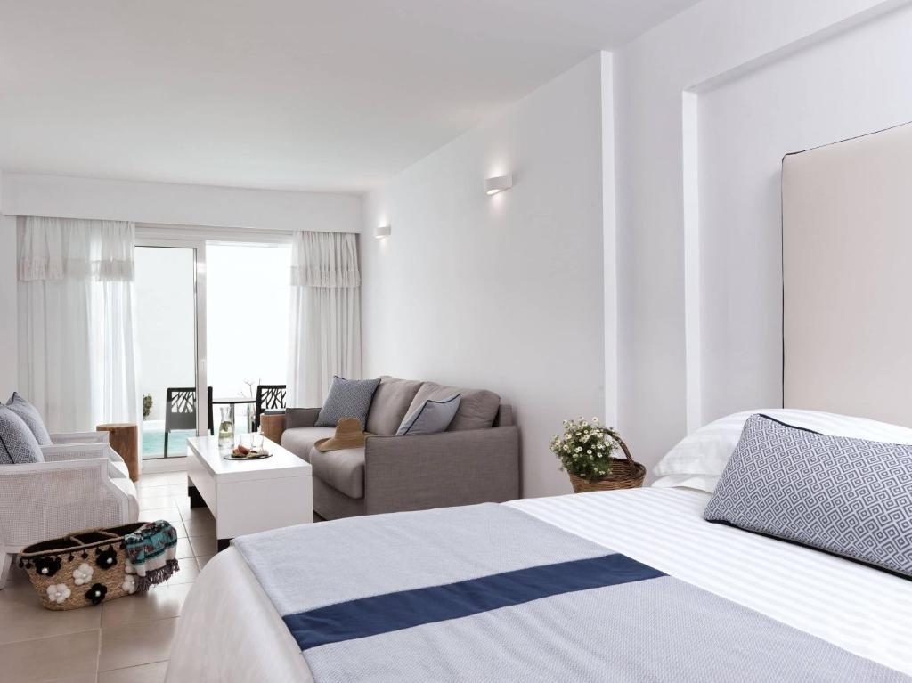 aressana spa hotel - junior suite gedeeld zwembad