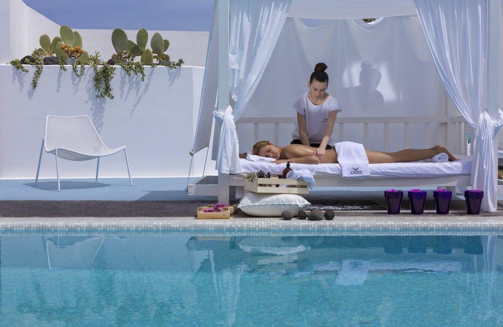 Aressana Spa hotel - zwembad