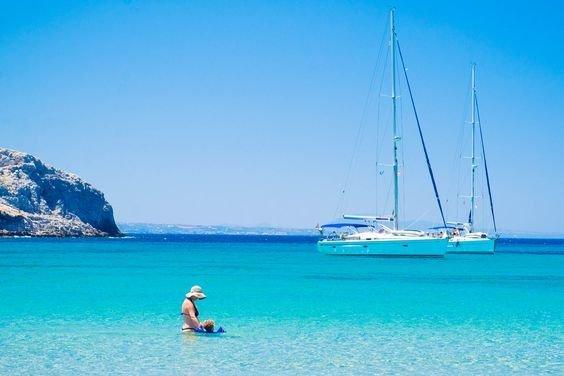 Snorkelen in azuurblauw water - Pserimos