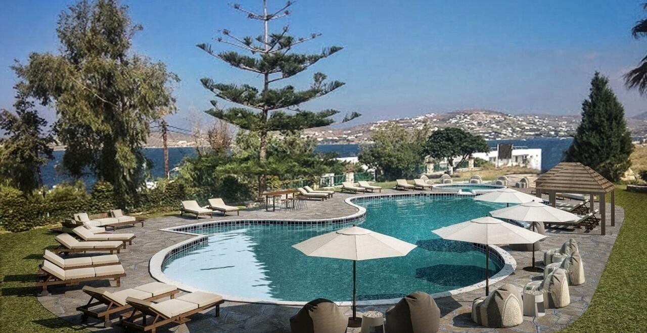 High Mill Paros - zwembad