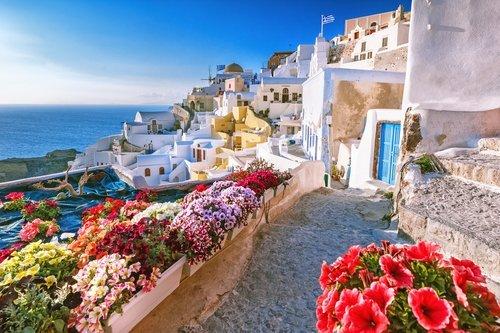 Santorini - Oia klein