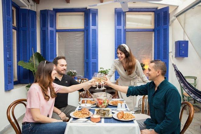 Athene - eten bij locals