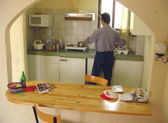 Appartementen Bella Casita - kitchenette