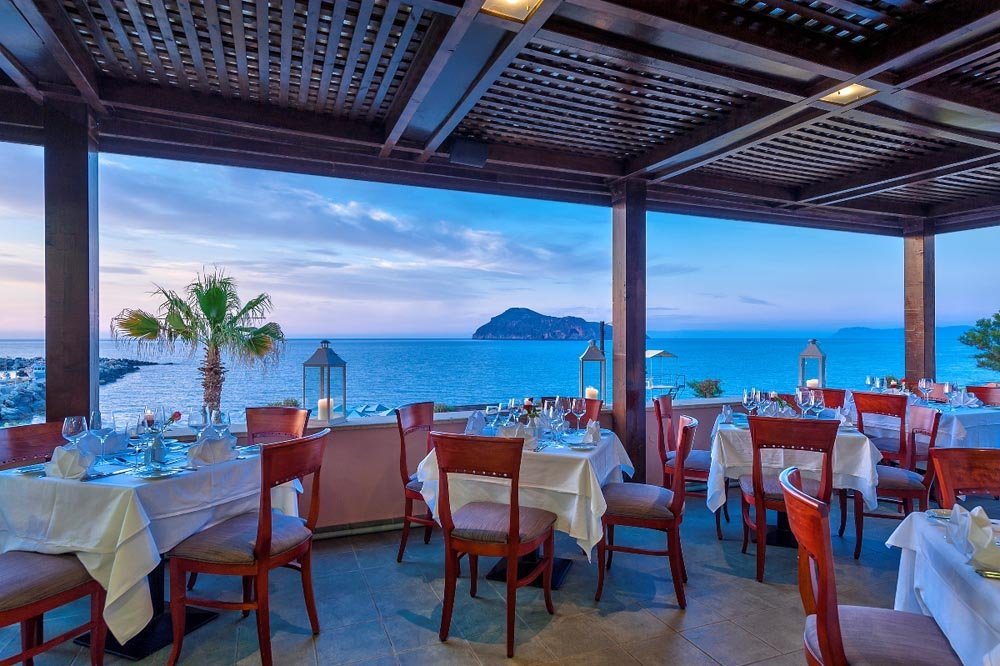Hotel Porto Platanias Beach Resort & Spa - restaurant