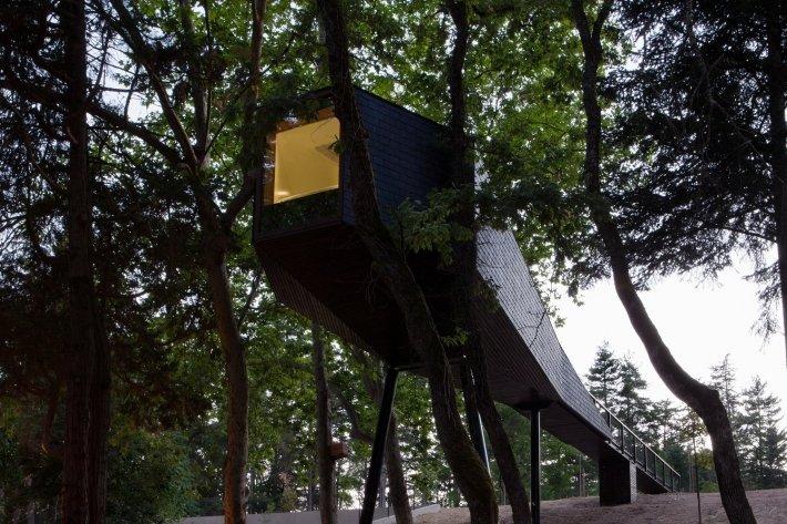Pedras Salgadas Spa & Nature Park - boomhuis