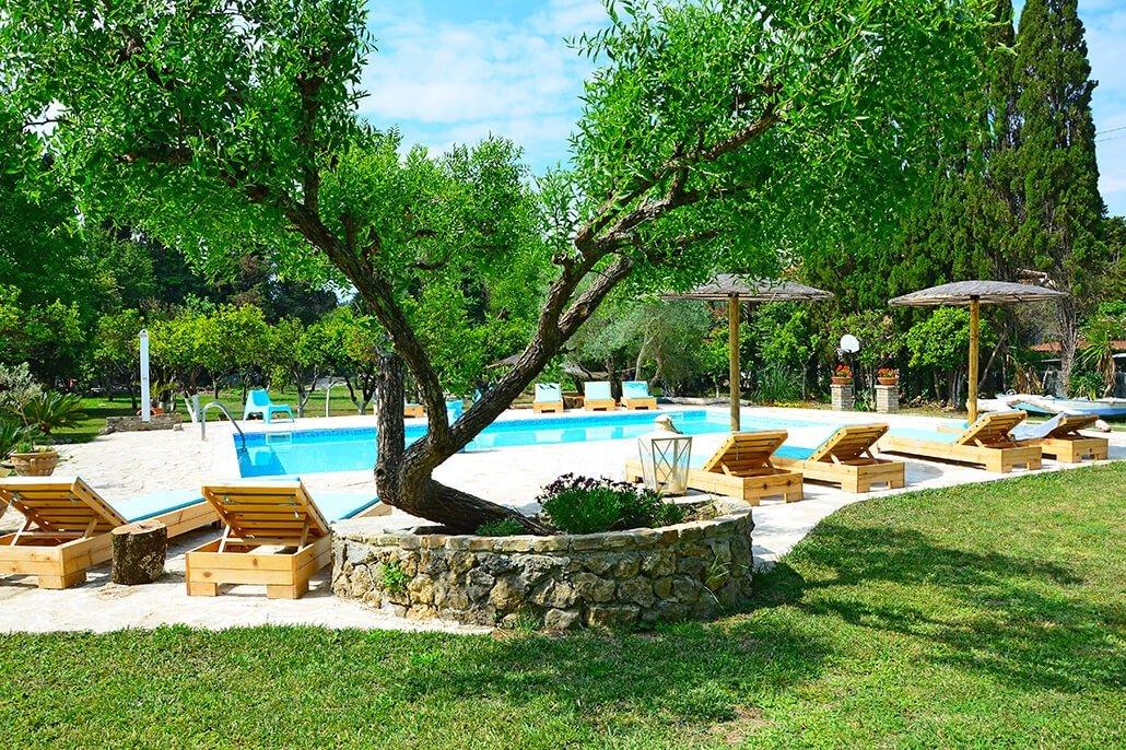 Appartementen Siorra Alessandra - zwembad