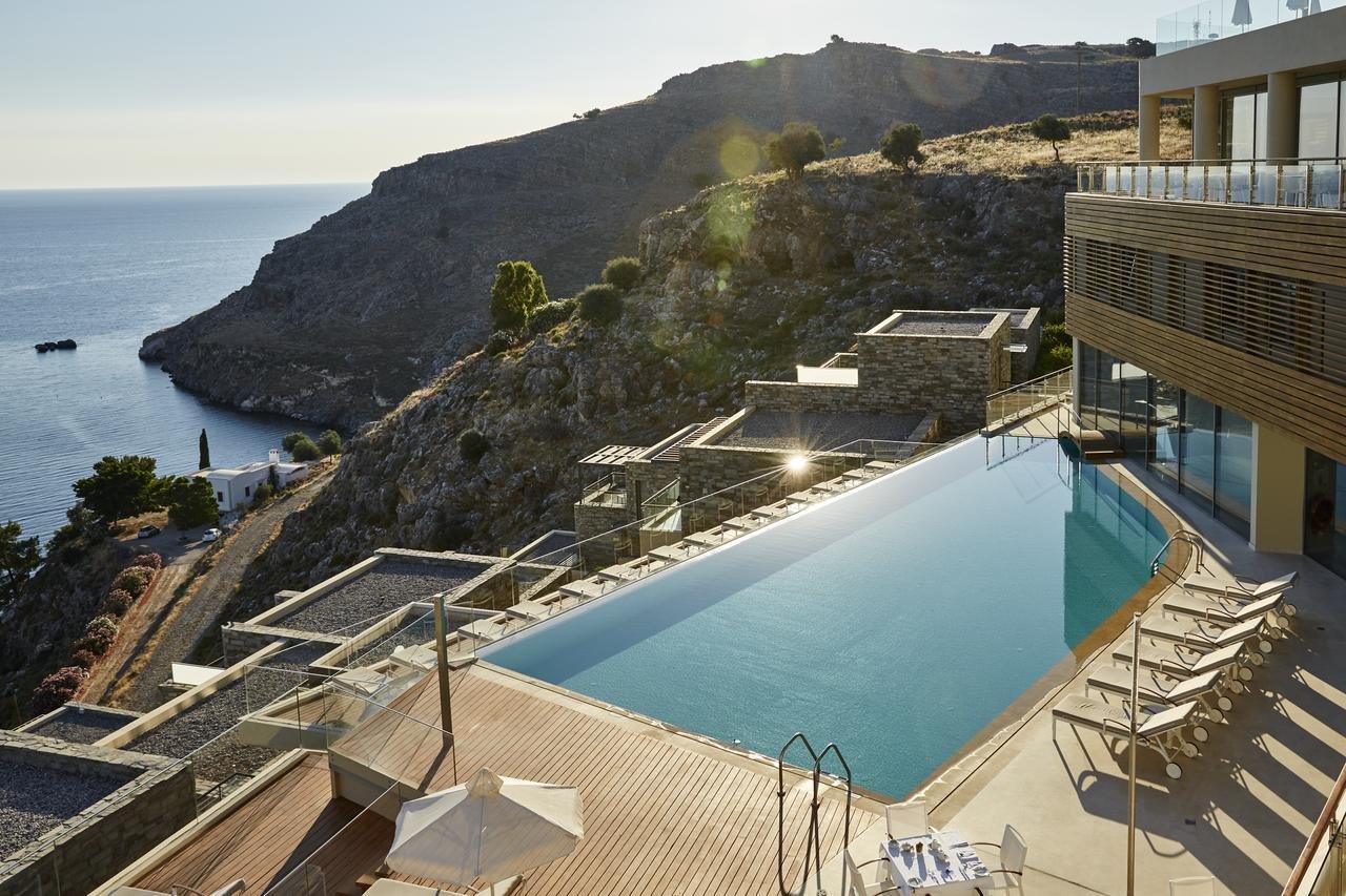 Lindos Blu Luxury Hotel & Suites - zwembad