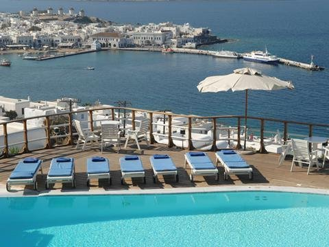 Mykonos View - zwembad