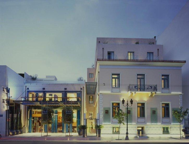 Athenaeum Eridanus Luxury hotel  - exterieur