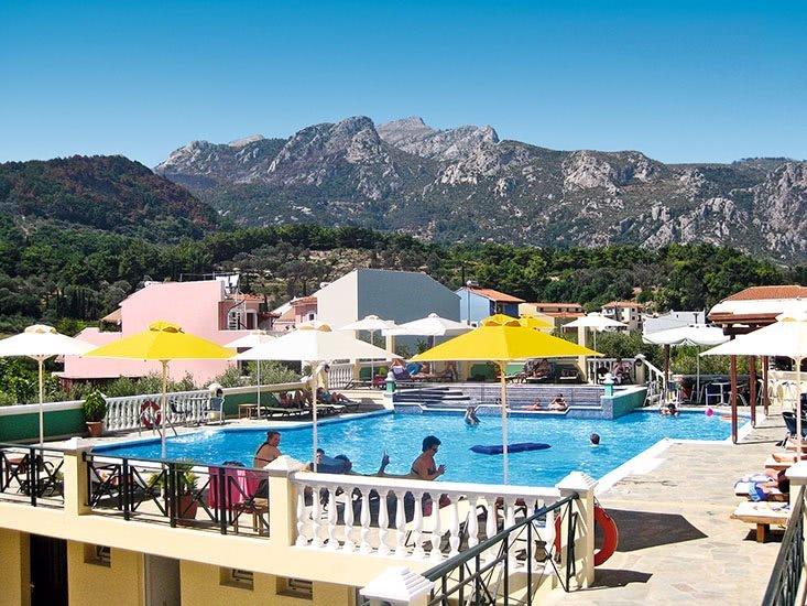 Hotel Athena - zwembad