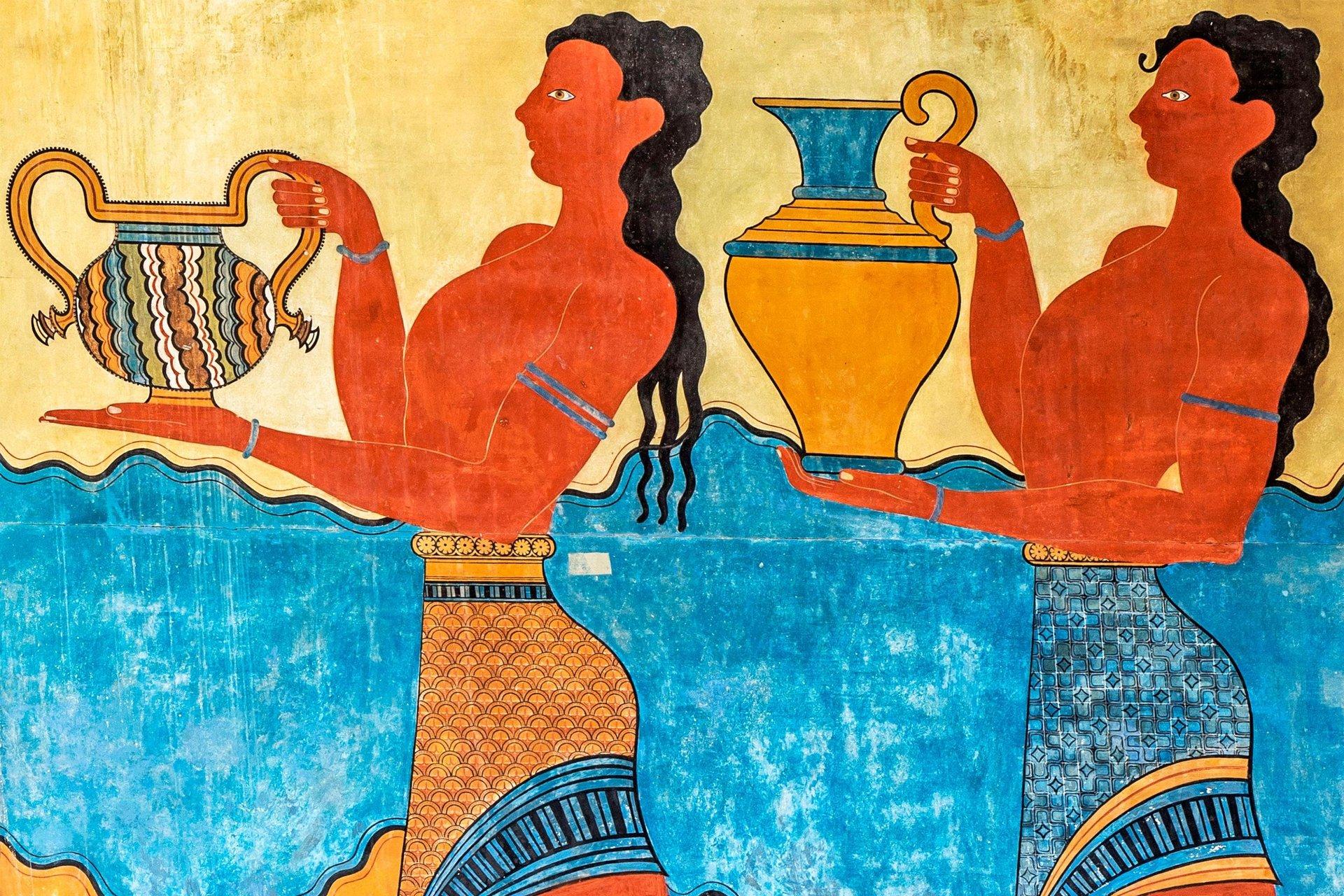 Kreta - Paleis Knossos