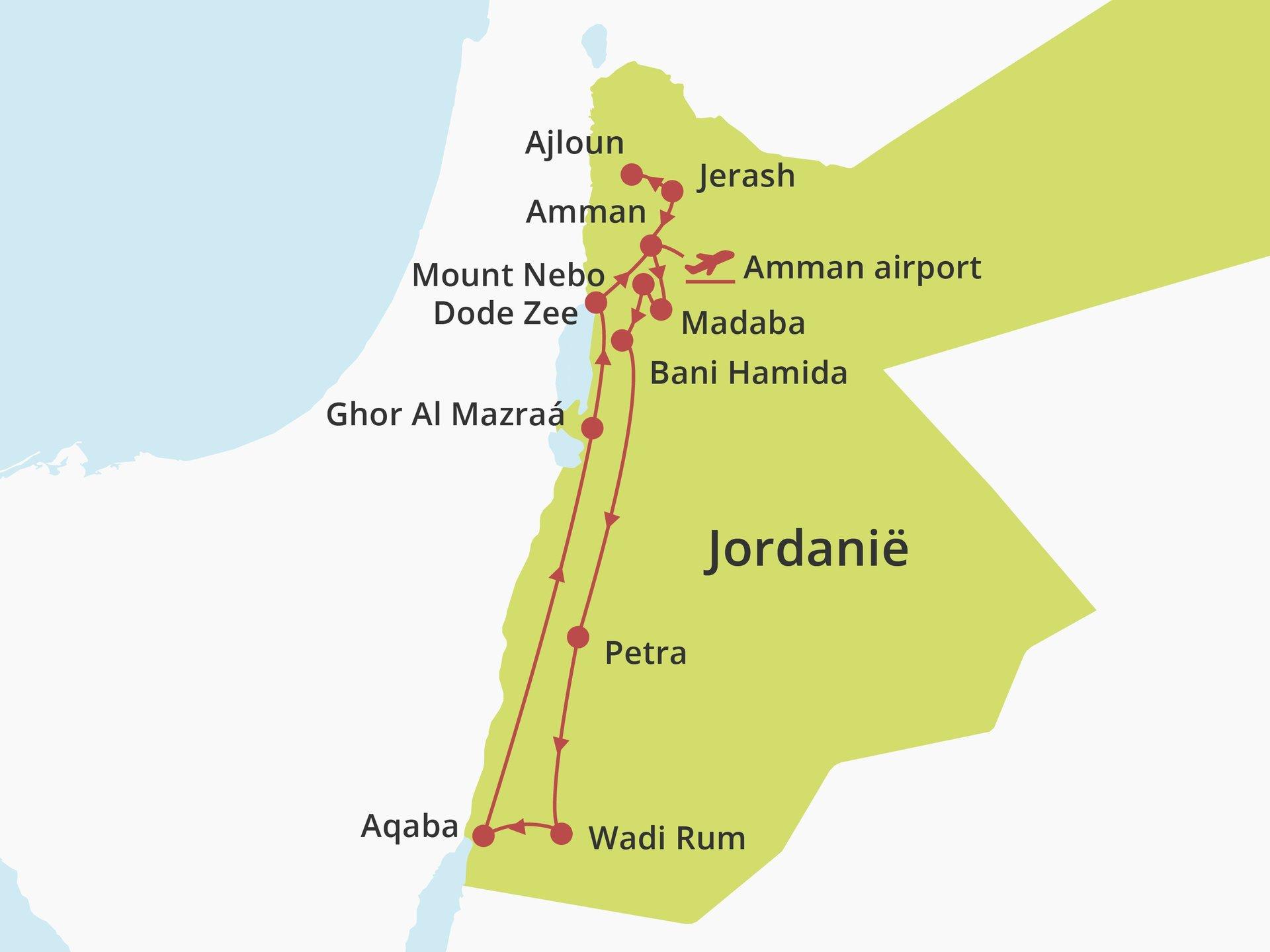 Privérondreis The Local Experience Jordanië