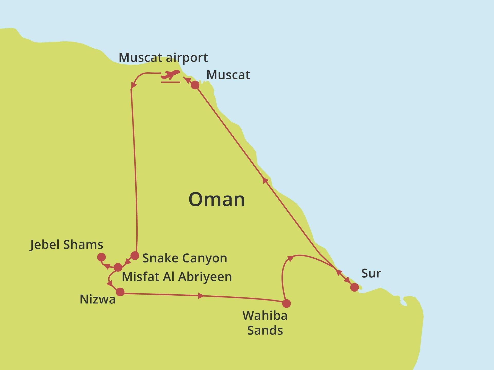 Fly-drive Sportief & Avontuurlijk Oman
