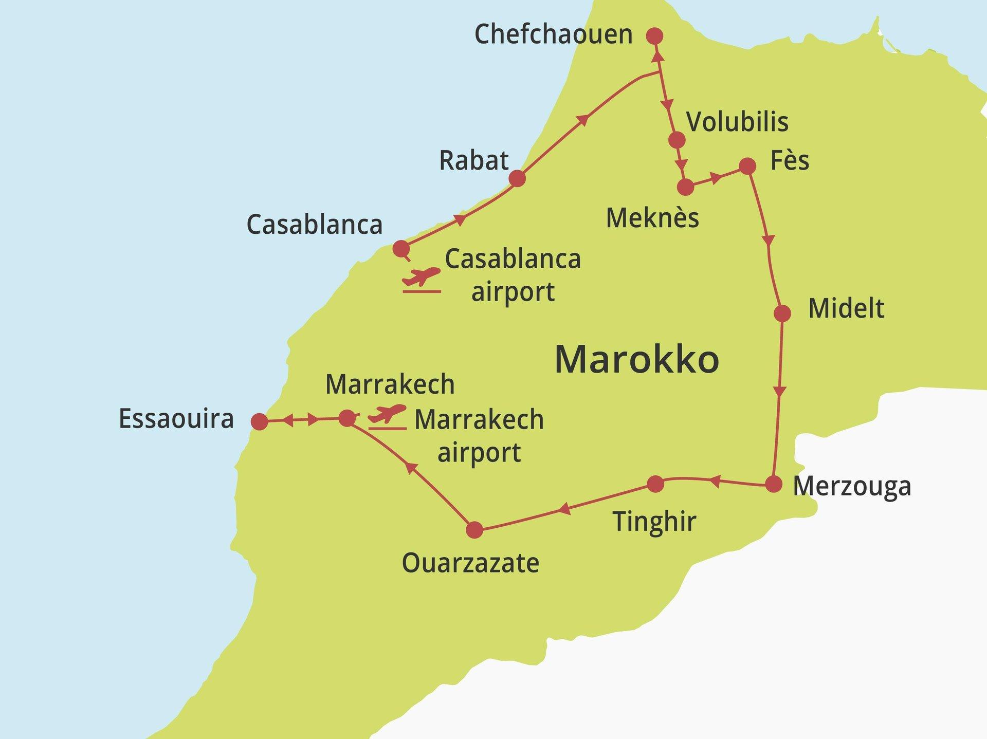 Fly-drive Marokko Compleet