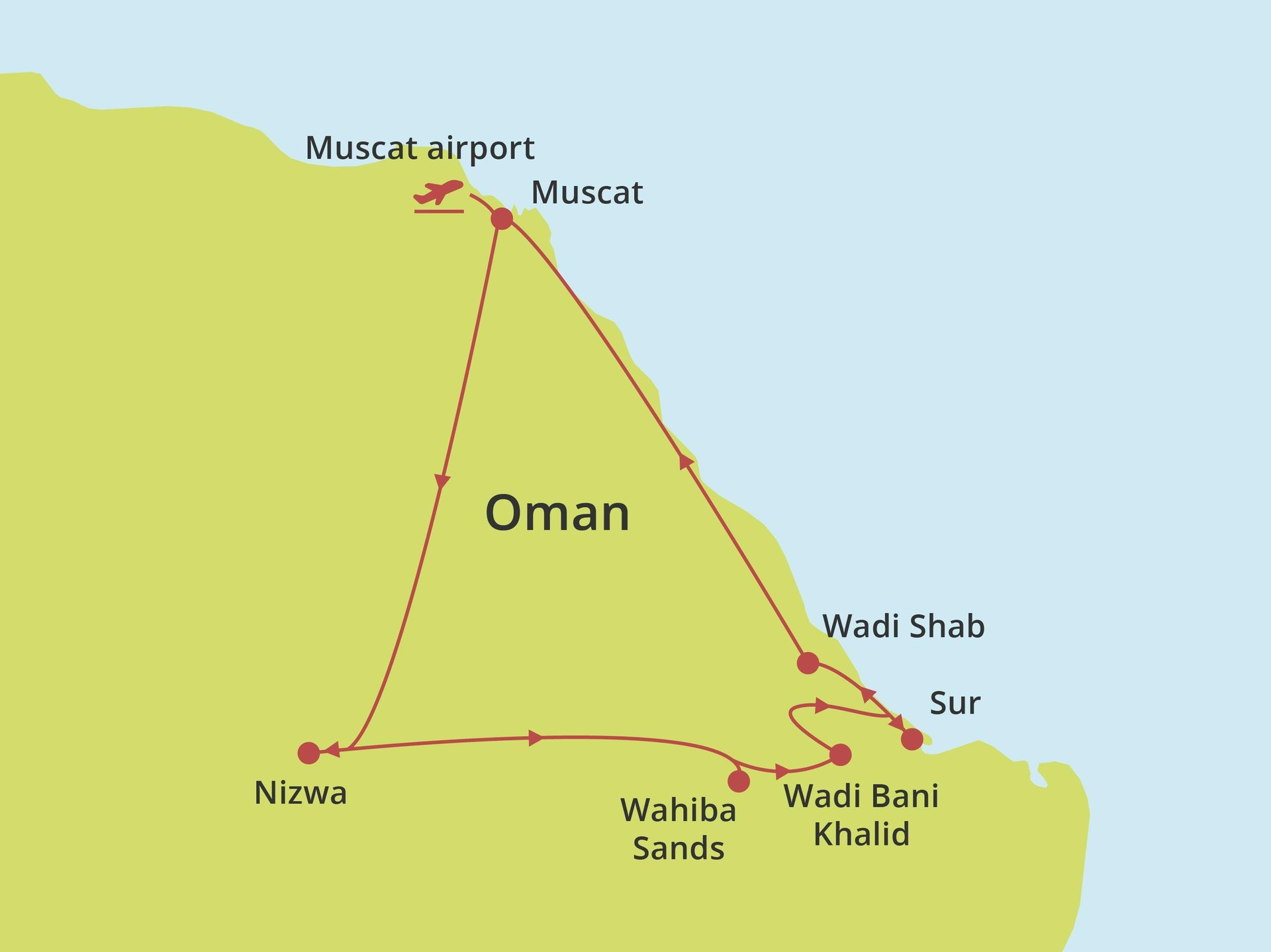 Fly-drive Oman Compact
