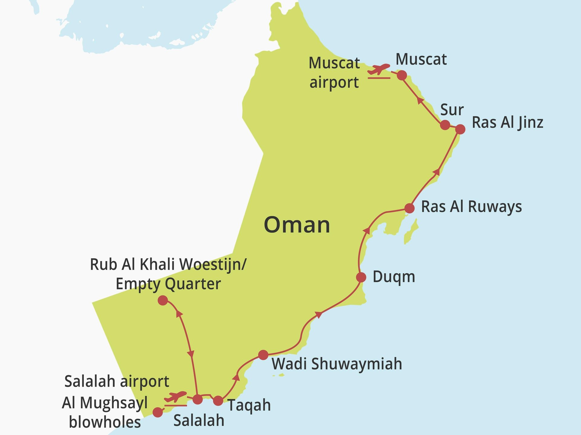 Privérondreis Oman Unexplored