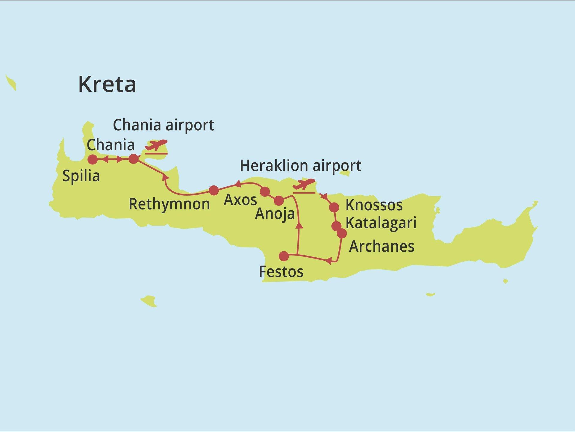 Fly-drive Kreta - Couleur Locale 12 dagen