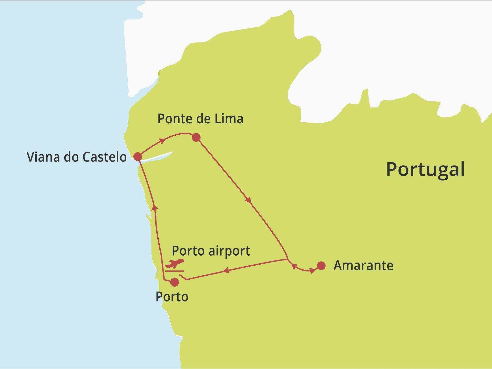 Fly-drive Noord Portugal voor genieters